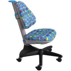 Детское кресло Mealux Y-317 BN Голубой со зверятами (Y-317 BN)